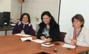 شفاعمرو: مديرة قسم التربية والتعليم تجتمع مع مساعدات البساتين