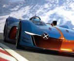 ألباين GT6 فيجين سيارة سباقات من الفضاء الخارجي