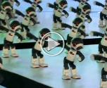 100 روبوت يرقصون في تناغم بطوكيو