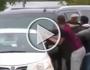 ميسي يقود سيارة أوباما بتهور مخيف