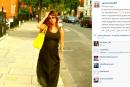 زينة تنشر صورتها وهي حامل وتترك التعليق للجمهور
