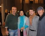 الناصرة : افتتاح معرض  شيء من  للفنان مارون الياس من الجش