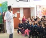 يوم علوم غني بالفعاليات بمدرسة المجد الابتدائية في الطيرة