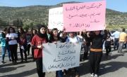 وادي سلامة : مظاهرة وإغلاق المفترق والشارع الرئيسي: نريد حلًا لمفترق الموت هذا!