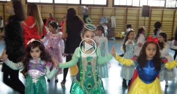الناصرة: الأمل تقيم مهرجان رقص للاطفال