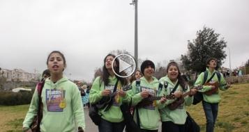 قيثارات من أجل السلام، في رسالة وأغنية خاصة لـ بكرا