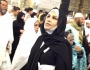 بالصور: احلام مع زوجها في العمرة