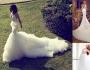 أجمل فساتين الزفاف عبر الإنستغرام