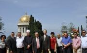 القيادة البهائية العالمية تستضيف وفداً رفيع المستوى من الكلية ألأكاديمية العربية للتربية في حيفا