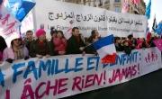 تواصل الاحتجاجات ضد زواج مثلي الجنس بفرنسا