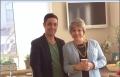 الممثلة رنين بشارات وزوجها جورج اسكندر يشاركان في حملة اعلانية للبنة تنوﭬـا