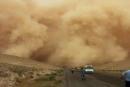الأردن: مصرع 5 لاجئين سوريين في العاصفة الرملية