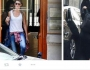 عارضة أزياء برازيلية ترتدي النقاب