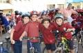 باقة الغربية: مسيرة ضخمة للدراجات الهوائية لطلاب الشافعي