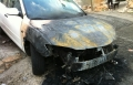 دير الاسد: احراق سيارتين لعائلة موسى