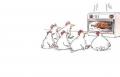 نكتة ع الماشي: معمل الجاج