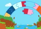 لعبة جسر الألوان