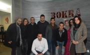 هيثم خلايلة نجم Arab Idol يزور مكاتب بـُكرا ويعد بحفل مميز الليلة
