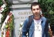 تشييع جثمان الطالب النصراوي طارق القاسم في بلغاريا
