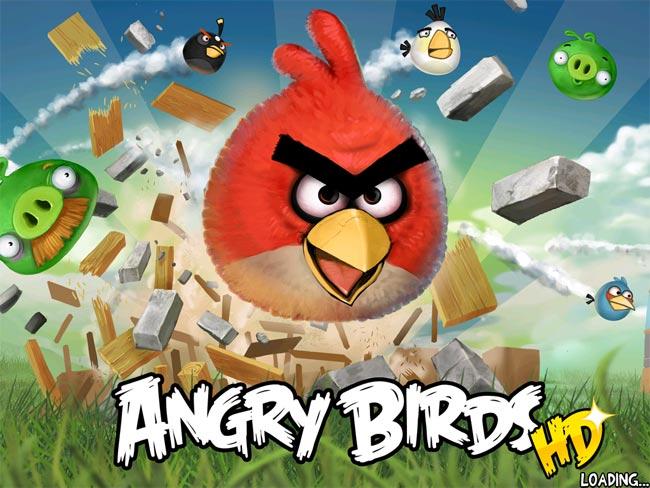 لعبة المتعة بدون حدود بجميع اجزائها angry birds على mediafire