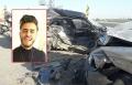 مصرع الشاب احمد الشيخ احمد من عبلين في حادث طرق بالقرب من كريات بيالك