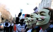 انونيموس يهاجم مواقع عالمية مروجه لـ داعش