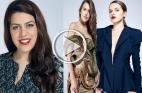 ساندرا سكران .. مصممة أزياء شابة من يافا تسعى للعالمية وتحوّل الفيلم الكلاسيكي لتصاميم رائعة