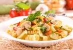 أكلات رمضانية :باستا الدجاج بالمشروم والأفوكادو