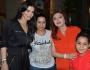 نبيلة عبيد تحتفل بعيد ميلاد ابنة شقيقتها