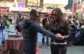 بالفيديو.. كارول سماحة تحيي حفلا راقصا في أحد شوارع نيويورك