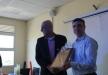 مجلس الرينة المحلي والرواد للتعليم العالي يكرّمون البروفيسور حسام حايك