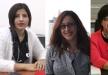 نساء رائدات ومميزات في مجالهن، جوليا زهر وسامية عرموش ودعاء بكرية