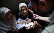 تشييع جثمان الشهيدة الطفلة ياسمين المطوق من جباليا