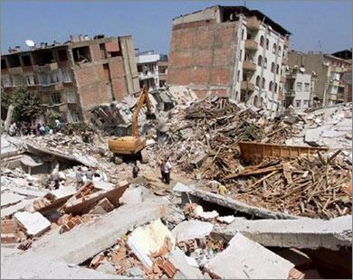 زلزال تركيا اليوم بقوة 5.7