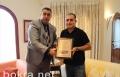 المصري يكرم الدكتور عقل عقل على دعمه للمشاريع الثقافية بكفر قرع