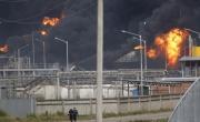اوكراينا: استمرار اندلاع حريق كييف لليوم الثالث