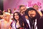 غنوة زين الدين لبنانية تتوج ملكة جمال العرب بأميركا