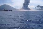مقطع نادر لانفجار بركاني يحقق ملايين المشاهدات