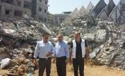 وفود من منظمة أطباء لحقوق الانسان زارت غزه اثناء وبعد العدوان على غزة