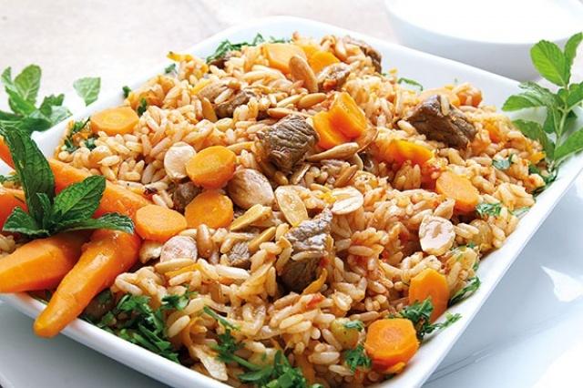 طبق الأرزّ البخاري  !!!