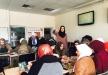 كفر قاسم - الثانوية الشاملة تقوم بفعاليات عن العنف على أثر الإعتداء الغاشم على المفتش اللوائي طارق ابو حجلة