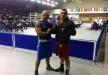الملاكم عبود قعدان يحرز الميدالية البرونزية في بطولة هنغاريا