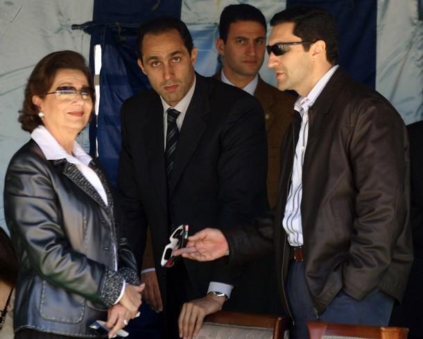 نوبة قلبية تصيب سوزان مبارك