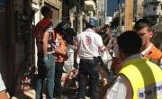 نهاريا: سقوط عامل 17 عاماً من الطابق الثالث