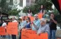 التجمع الديمقراطي في الناصرة يتظاهرة ضد غلاء