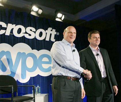 مايكروسوفت تشتري سكايب مقابل 8,5