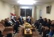 مجدل شمس : وفد من اللجنة الوطنية للتواصل يهنئ بتحرير الاسير ماجد الشاعر