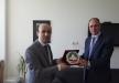 ألسفير د. فائد مصطفى يجتمع برئيس ألاكاديميه ألدبلوماسيه ألتركيه