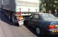 الفريديس: حادث بين شاحنة وخصوصية واصابة بالغة