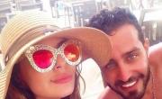 سعد رمضان وليليا الأطرش معاً بإطلالة صيفية